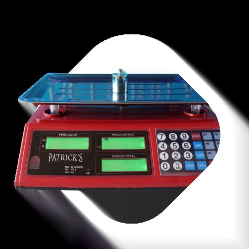 Balanza Electrónica comercial Patricks de 30 kg sin torre