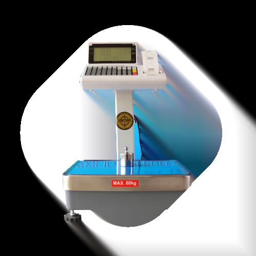 Balanza etiquetadoras T-Scale PPP 60 kg